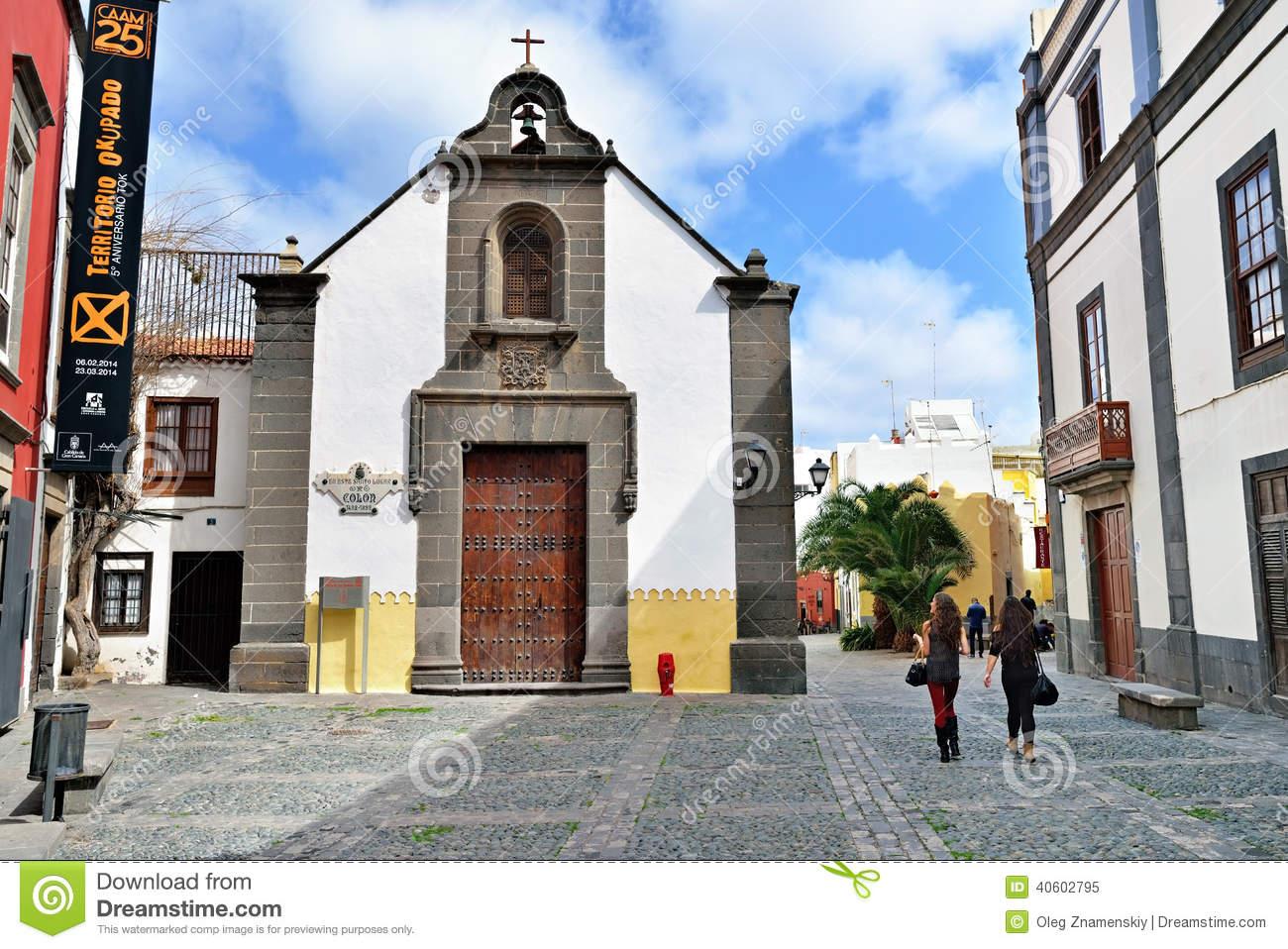 Ermita De San Antonio Abad Church Editorial Image.