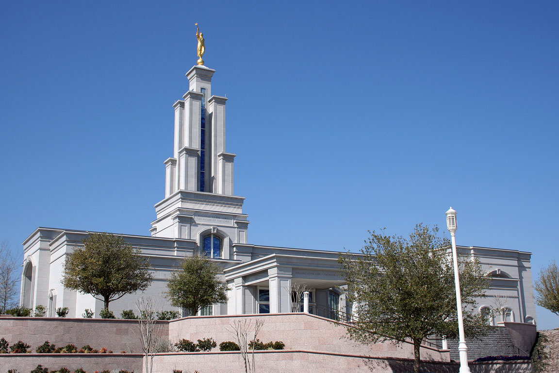 San Antonio Texas LDS (Mormon) Temple Photographs Page #1.
