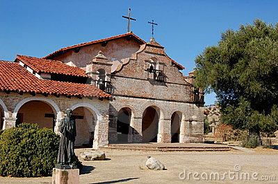 Mission San Antonio De Padua Stock Photography.