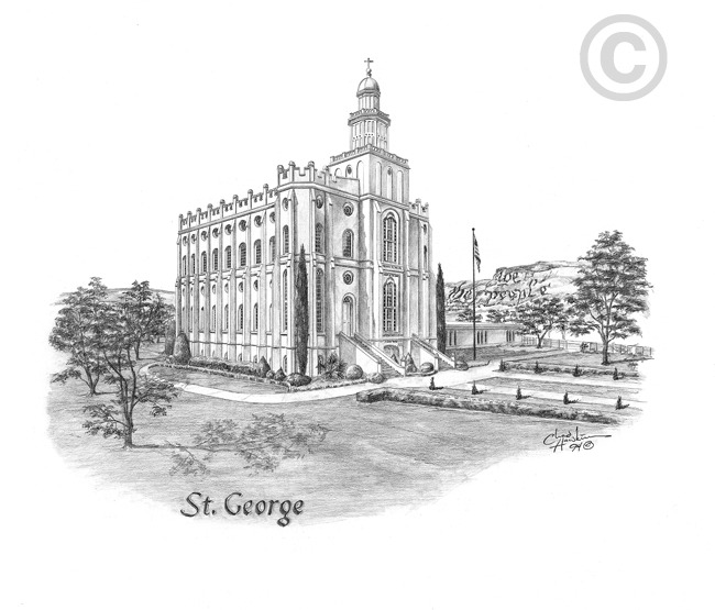 St. George Utah Temple.