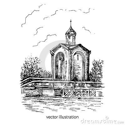 Church St George Stock Illustrations.