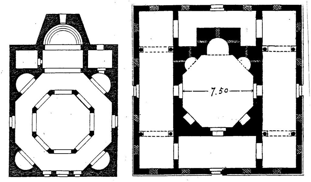 3.3.1.4. The octagonal church plan.