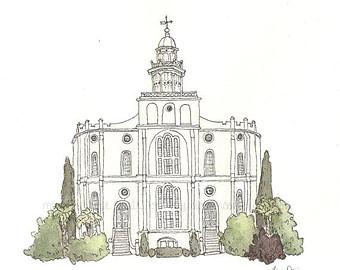 St george temple.