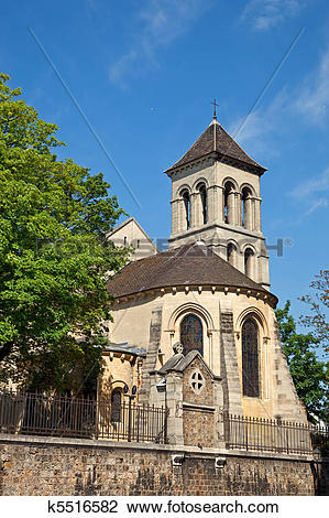 Stock Photo of Saint Pierre de Montmartre Church Paris k5516582.