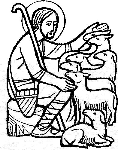 Christian clip art good shepherd.