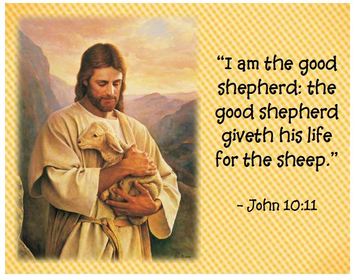 Jesus The Good Shepherd Clipart.