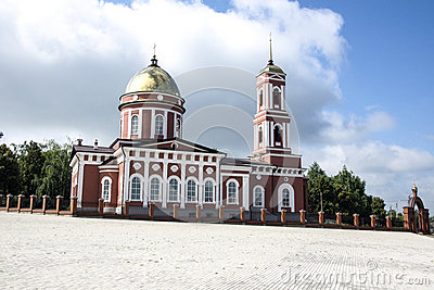 Trinity Cathedral In The Birsk Stock Photo.