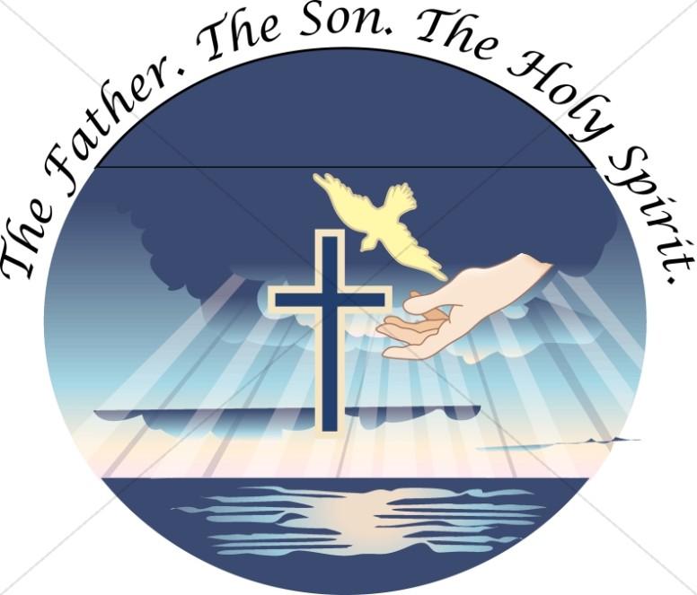 Holy trinity clip art