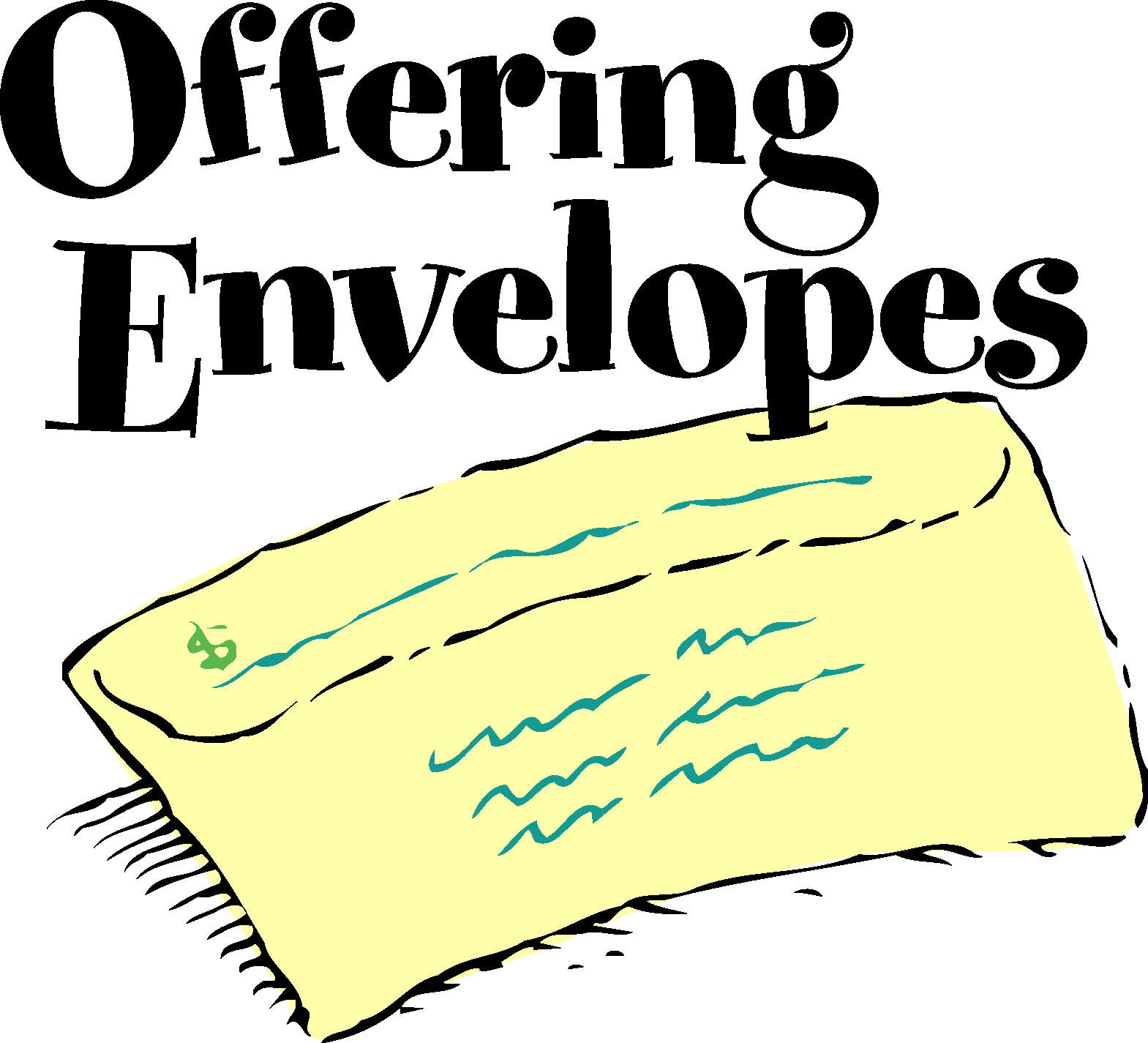 Offering Envelopes Clipart.