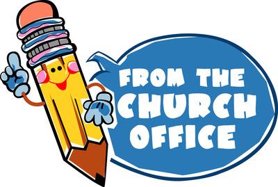 Church office clipart.