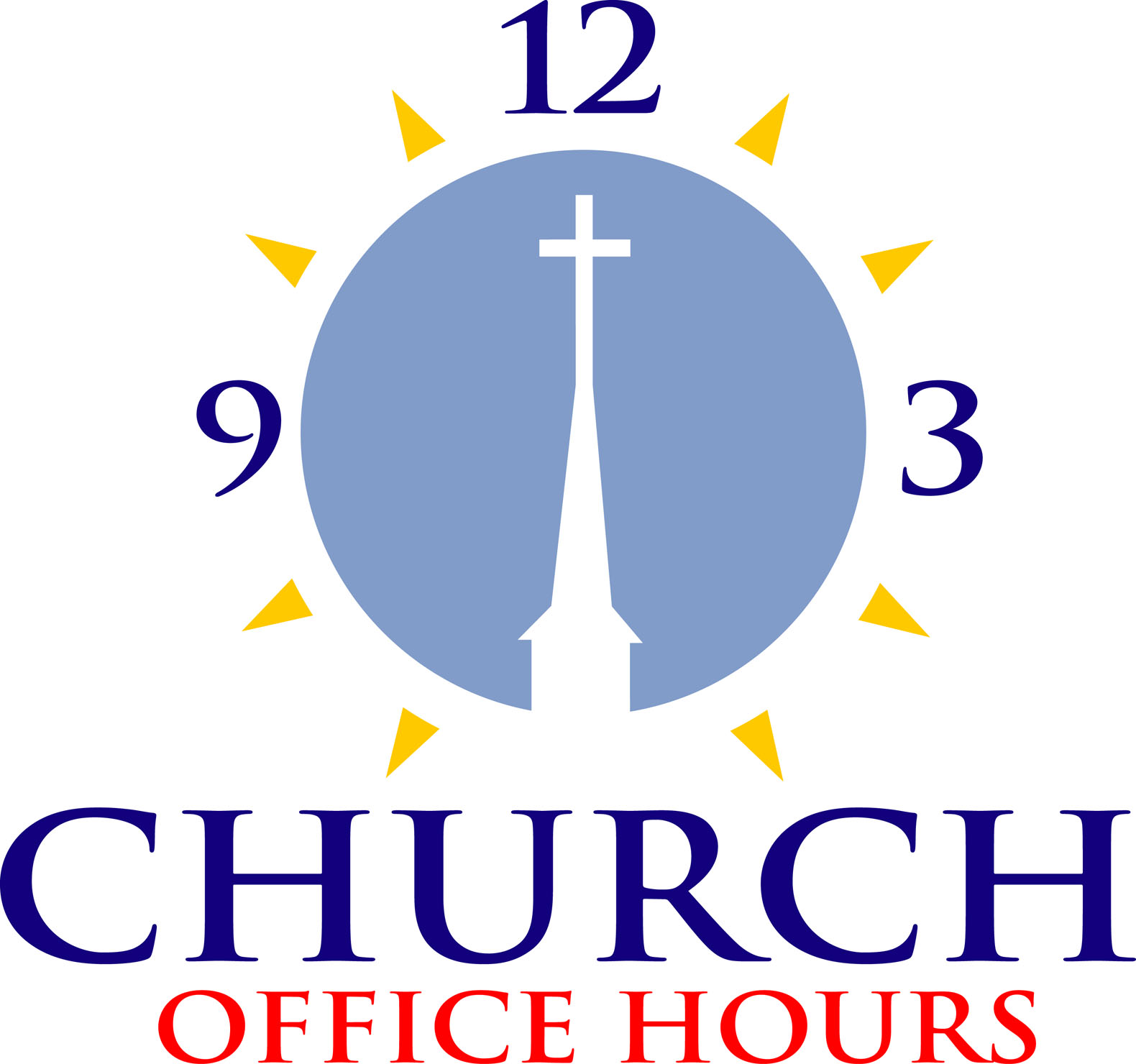 Church office hours clipart image #4902.