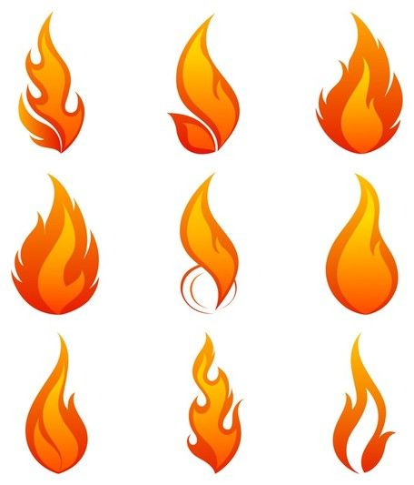 Flames flame clip art vector flame graphics image 4.