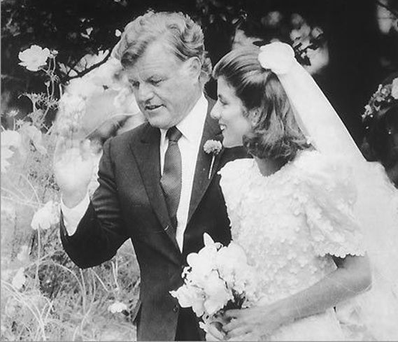 Edward kennedy wedding