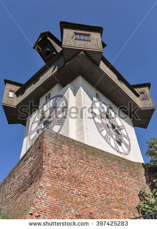 Schlossberg Tower Stock Photos, Royalty.