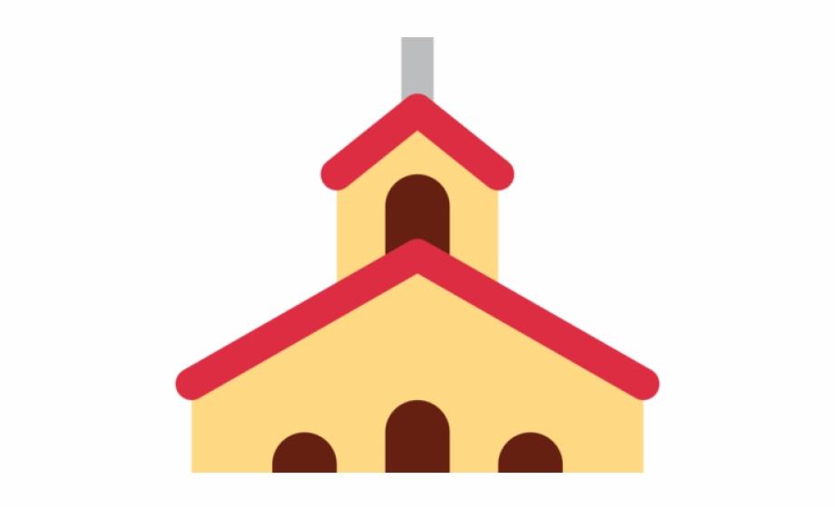 Church Emoji Outline.