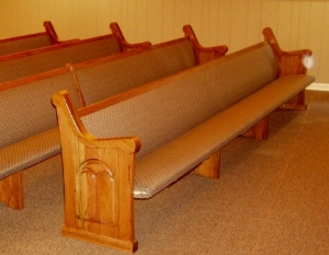 Church Pews by Master Seating Chosen For Tennessee Church.