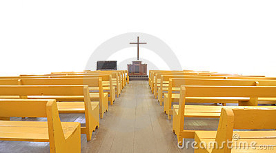 Church pews clipart.