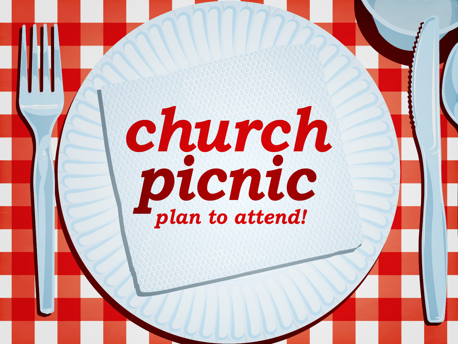 Memorial Day Party Church Picnic.
