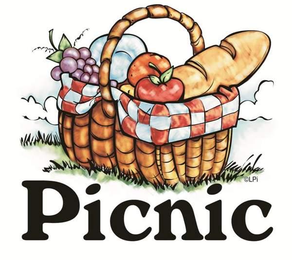 Church picnic clip art 2.