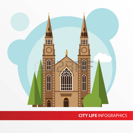 1,170 Church Facade Stock Illustrations, Cliparts And Royalty Free.
