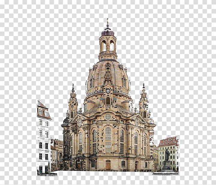 Europe Basilica Church, European retro, Church transparent.