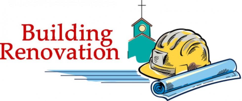Building Renovation Plans Announced.
