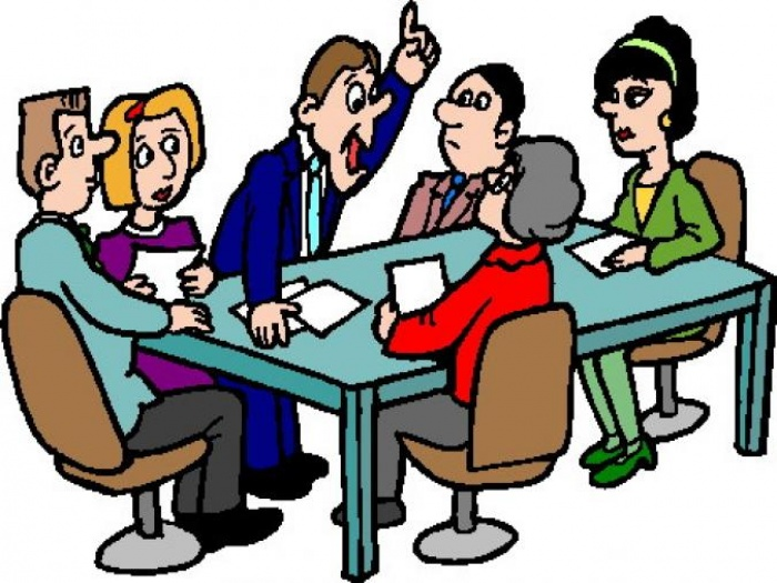 Clip Art of Church Council.