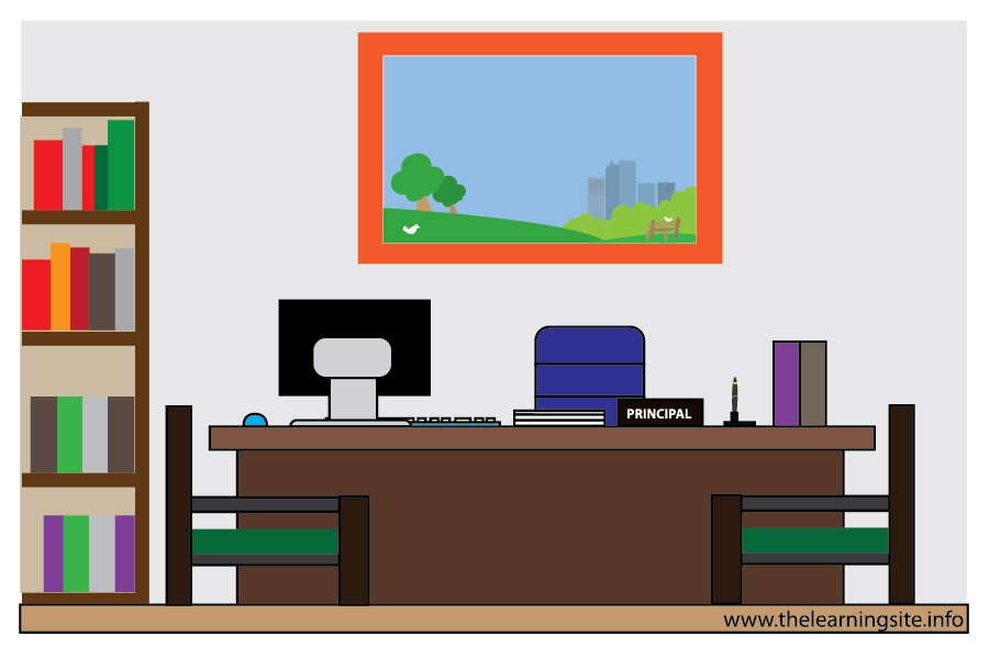 Clipart office room.