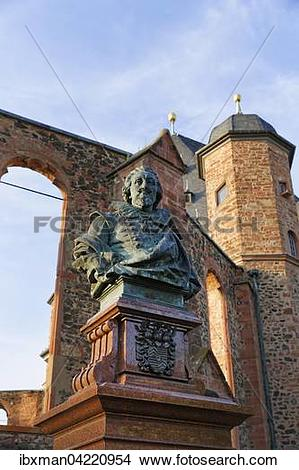 Stock Photo of Monument to Count Philipp Ludwig II. and Walloon.