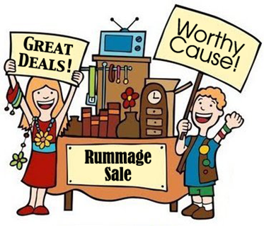 Accepting items for Rummage Sale.