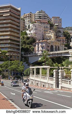 "Picture of ""Street scene, Monaco, Europe"" iblshg04008837."