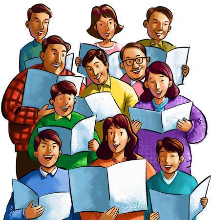 Church singing clipart 3 » Clipart Portal.