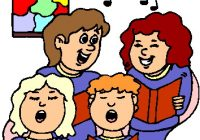 Church Choir Clipart Singing Clip Art Cards Awesome Terrific 8.