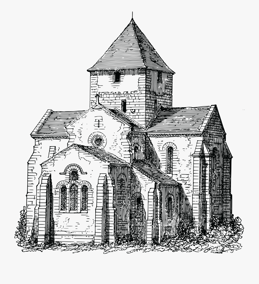 Church Sketch Png , Free Transparent Clipart.