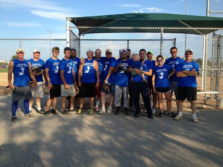 Crossroads Community Church Softball Team T.