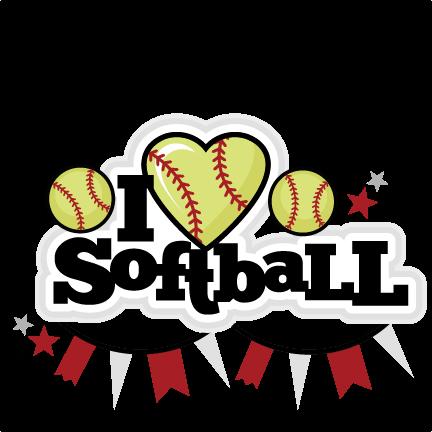 Birthday Softball Cliparts.