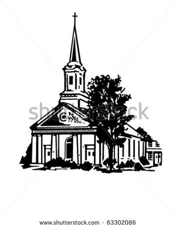Black Baptist Church Clipart.