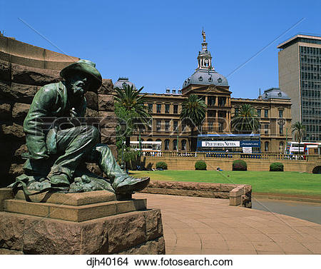 Stock Photo of South Africa, Pretoria, Parliament House, Church.