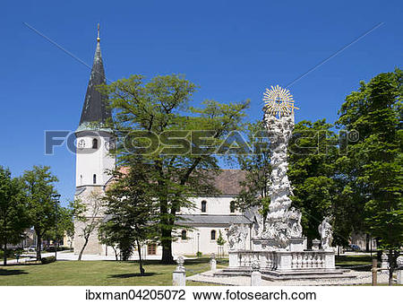 Stock Photo of Parish Church of St. Vitus and the Holy Trinity.
