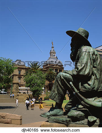 Stock Image of South Africa, Pretoria, Parliament House, Church.