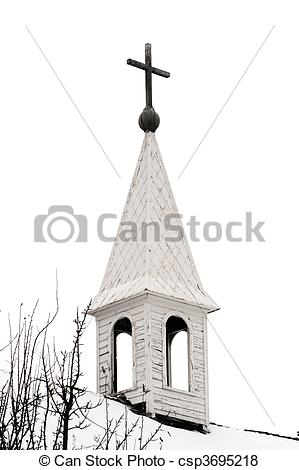 Pictures of Old Country Church Steeple.