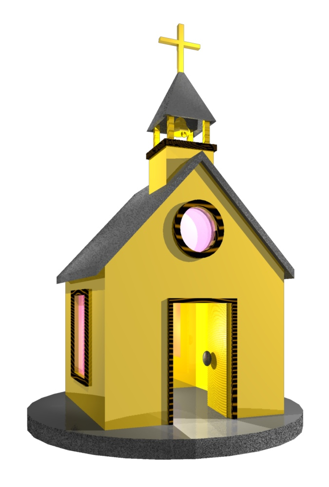 Church House Clipart.