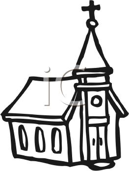 10471 Church free clipart.