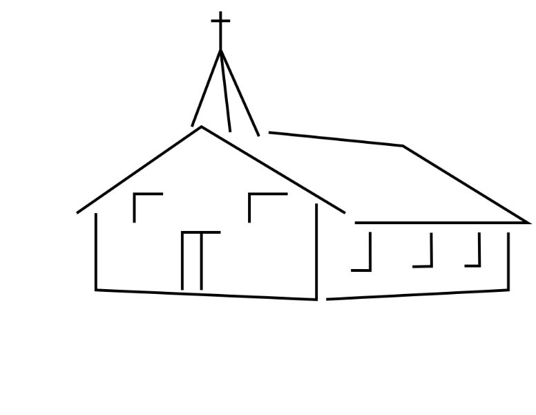 Church steeple clipart.