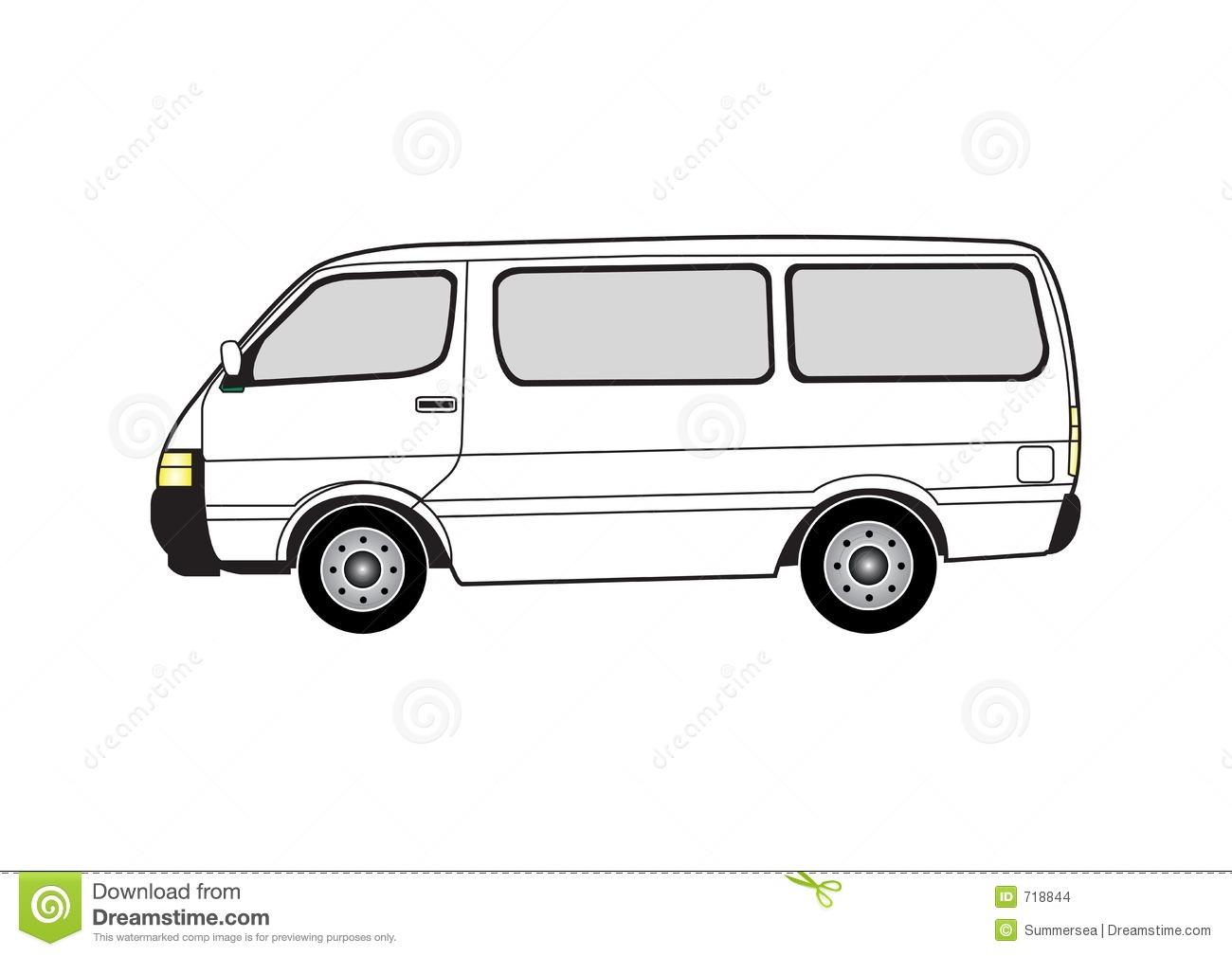 79+ Clip Art Van.