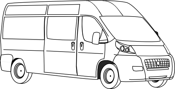 Church Van Clipart.