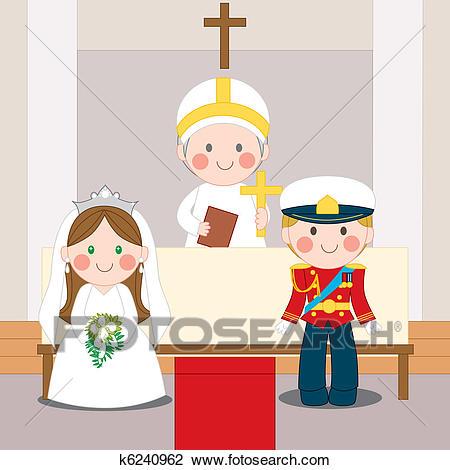 Royal Wedding Clipart.