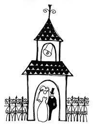 church wedding clipart.