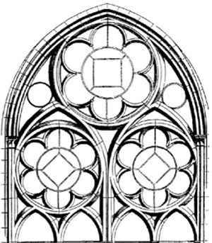 Church window clipart #16