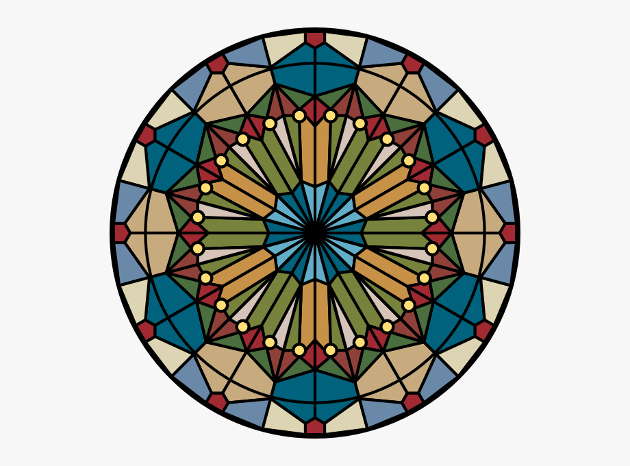Stained Glass Window Clipart.